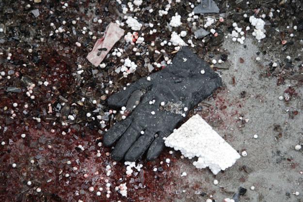 Na Ukrainie giną również cywile fot. Alexander Ermochenko /AFP