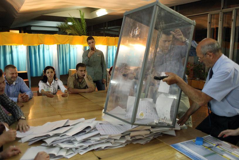 Na Ukrainie odbyły się dziś wybory /AFP