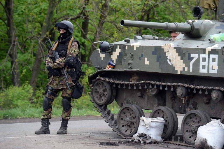 Na Ukrainie wciąż jest niespokojnie /AFP