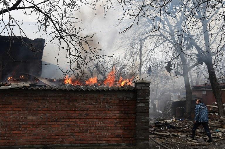 Na Ukrainie wciąż trwają walki /AFP