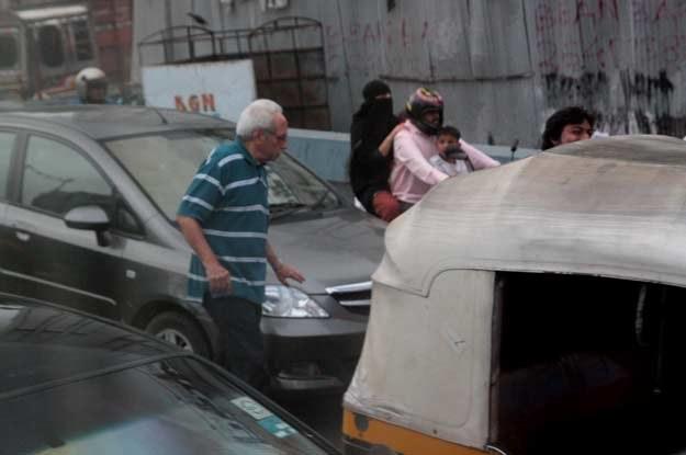 Na ulicach Indii wszyscy na wszystkich trąbią... /INTERIA.PL