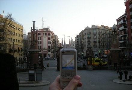 Na wprost Sagrada Família. /INTERIA.PL - Łukasz Kujawa