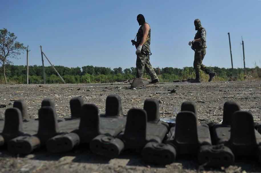 Na wschodzie Ukrainy dochodzi do regularnych walk /Photo ITAR-TASS    /PAP