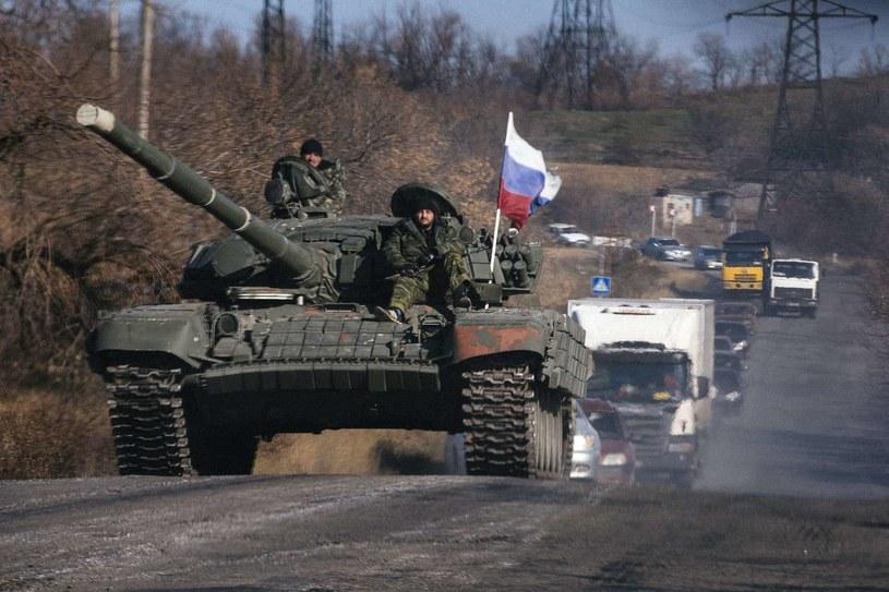 Na wschodzie Ukrainy przebywa kilka tysięcy rosyjskich żołnierzy /AFP