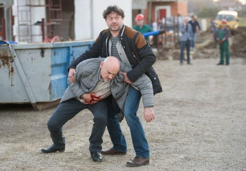 """""""Na Wspólnej"""": Roman zostanie postrzelony! /Agencja W. Impact"""