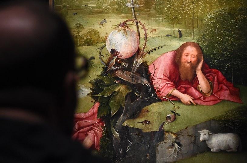 Na wystawie można zobaczyć reprodukcje dzieł Boscha /AFP