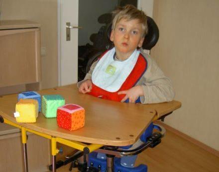 Na zdjęciu 9-letni Oskar /INTERIA.PL