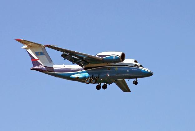 Na zdjęciu An-72. Samolot tego typu rozbił się w Kazachstanie w zeszłym miesiącu /AFP