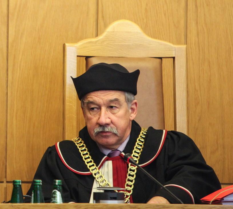 Na zdjęciu archiwalnym z 15.01.2013 r. sędzia Wojciech Hermeliński /Jakub Kamiński   /PAP