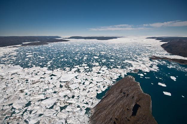Na zdjęciu: Fiord nieopodal miasta Ilulissat na zachodzie Grenlandii /AFP