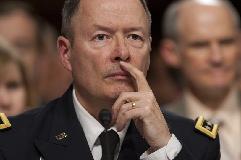 Na zdjęciu generał Keith Alexander, dyrektor NSA /SAUL LOEB /AFP