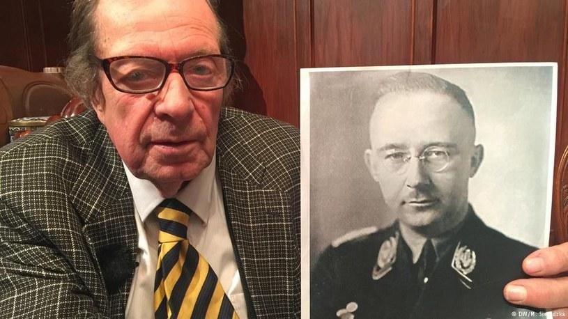 """Na zdjęciu Heinrich Himmler, """"przyjaciel"""" adopcyjnej rodziny /Deutsche Welle"""