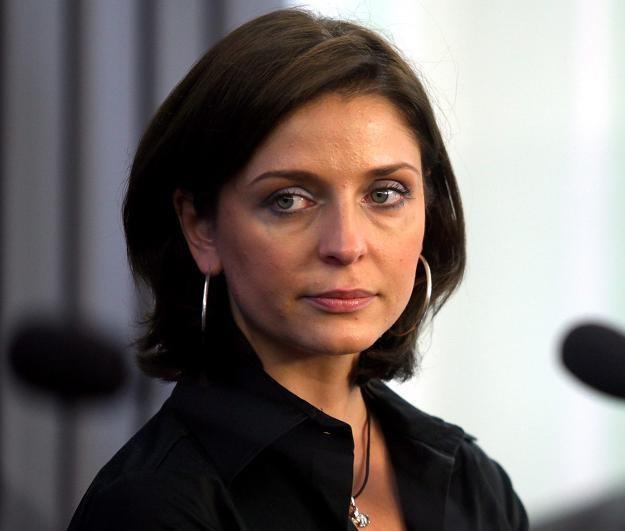 Na zdjęciu Joanna Mucha, nowa minister sportu /PAP