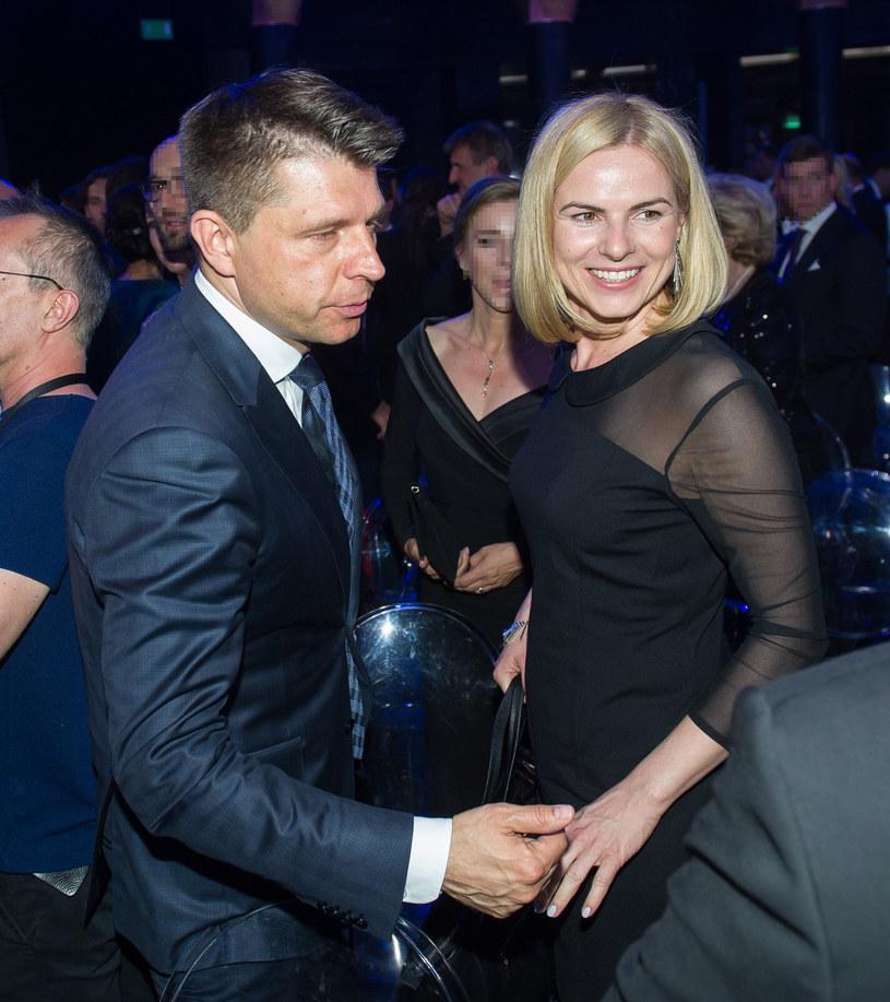 Na zdjęciu: Joanna Schmidt i Ryszard Petru /Bartosz Krupa /East News