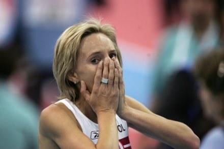 Na zdjęciu Lidia Chojecka. Polka awansowała do finału /AFP