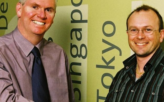Na zdjęciu Mike Hayes i Tim Ansell /Informacja prasowa