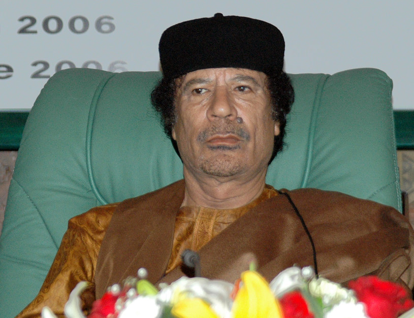 Na zdjęciu: Muammar Kadafi /MAHMUD TURKIA  /AFP