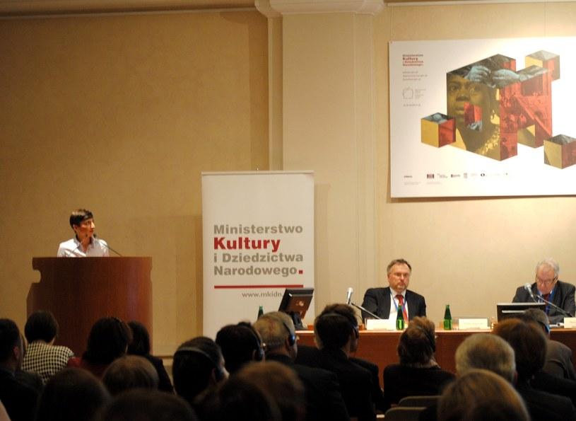 Na zdjęciu naczelnik Wydziału Strat Wojennych Elżbieta Rogowska /INTERIA.PL