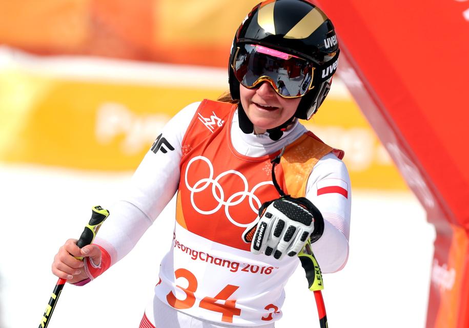 Na zdjęciu narciarka alpejska Maryna Gąsienica-Daniel / Grzegorz Momot    /PAP