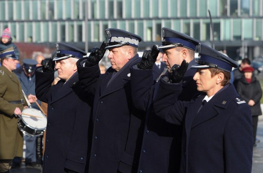 Na zdjęciu od lewej: płk Jarosław Kardaś, gen. Jacek Włodarski, płk Jacek Kitliński i płk Danuta Kalaman / Grzegorz Jakubowski    /PAP