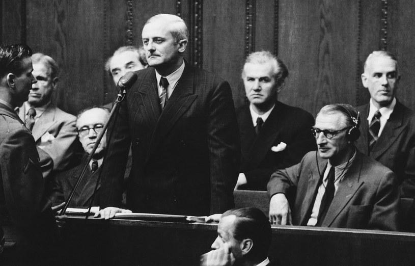 Na zdjęciu: Otto Ambros (14 sierpnia 1947) /ASSOCIATED PRESS/FOTOLINK  /East News