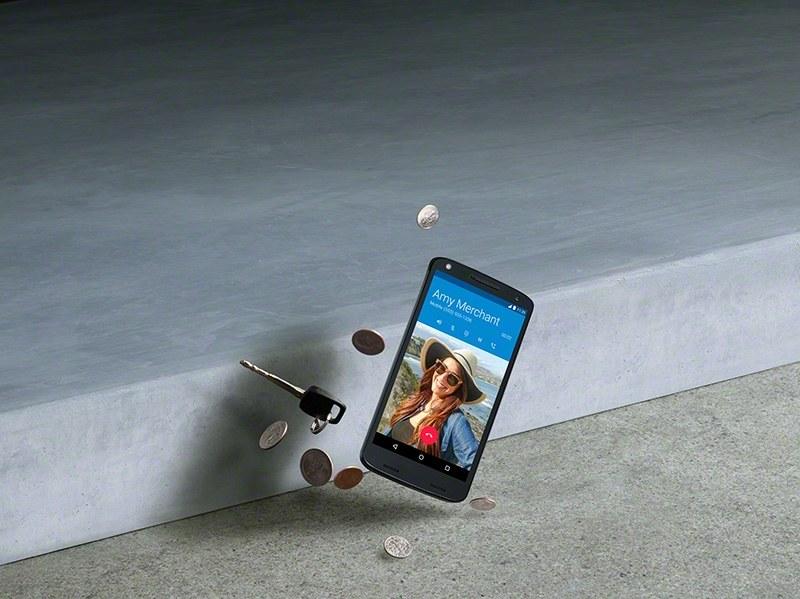 Na zdjęciu: Pierwszy na świecie telefon z nietłukącym się ekranem, Lenovo Moto X Force. /materiały promocyjne