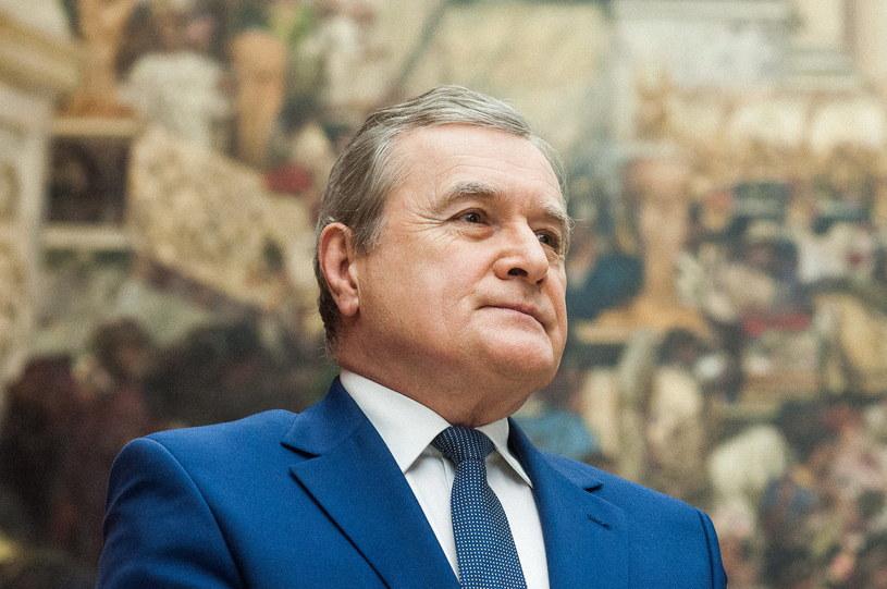 Na zdjęciu Piotr Gliński, minister kultury i dziedzictwa narodowego /Fot. Grzegorz Lyko / ArtService  /Agencja FORUM