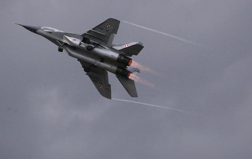Na zdjęciu polski MiG-29 /Matt Cardy /AFP/Getty