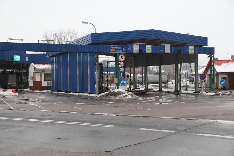Na zdjęciu: przejście graniczne w Bobrownikach /Anatol Chomicz /Agencja FORUM