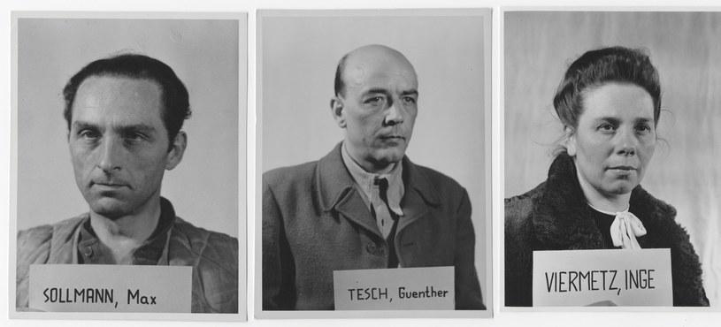 Na zdjęciu sprawcy akcji germanizacyjnej prowadzonej przez III Rzeszę /Universal History Archive /East News