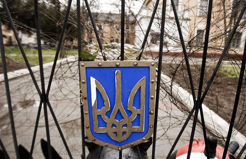 Na zdjęciu ukraińska baza wojskowa w Symferopolu /Adam Guz /Reporter