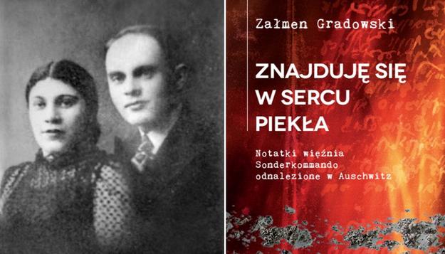 Na zdjeciu Załmen Gradowski z żoną Sonią /materiały prasowe