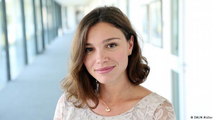 Na zdjęciu Żanna Niemcowa - aktywistka, dziennikarka Deutsche Welle, córka Borysa Niemcowa /Deutsche Welle
