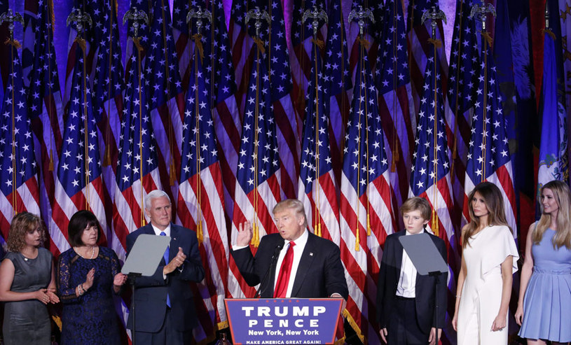 Na zwycięstwo Donalda Trumpa wpłynęły media społecznościowe /AFP