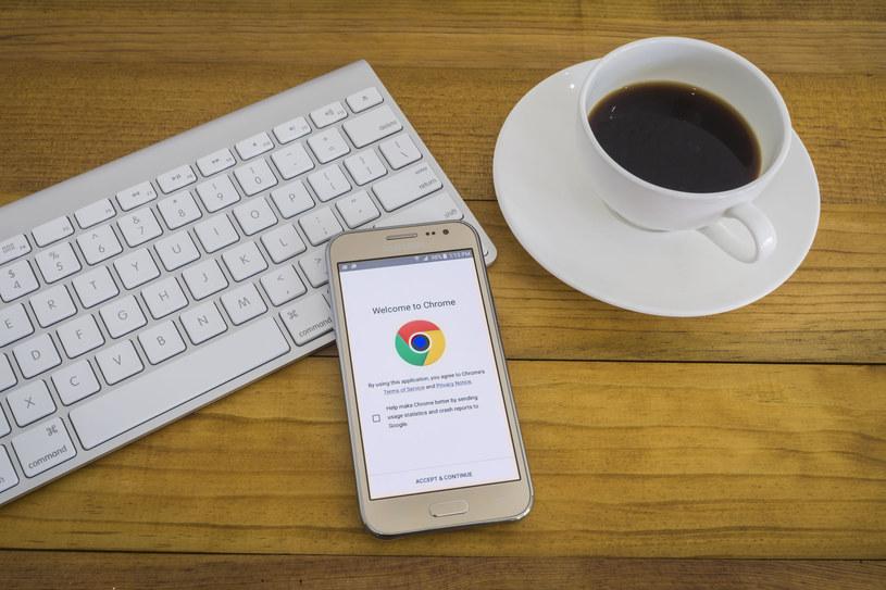 Nadchodzące zmiany w przeglądarce Chrome spodobają się wielu użytkownikom /©123RF/PICSEL