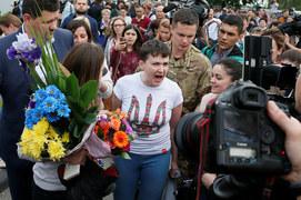 Nadia Sawczenko wróciła do ojczyzny