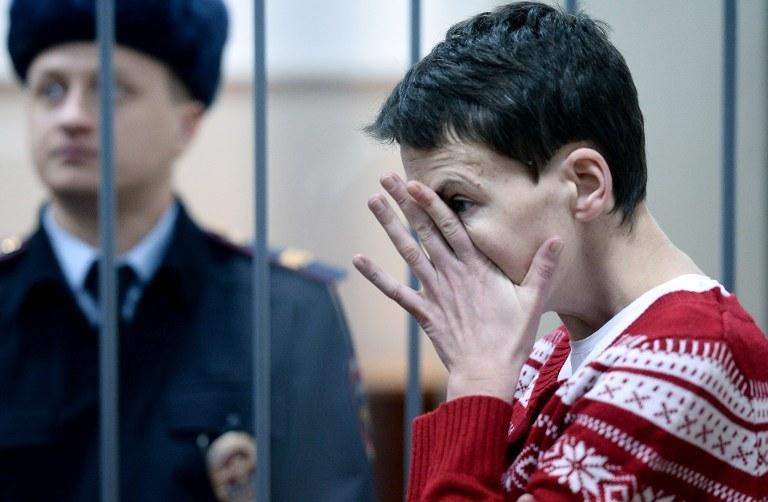 Nadia Sawczenko /DMITRY SEREBRYAKOV /AFP