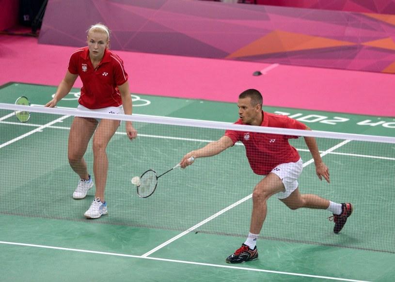 Nadieżda Zięba i Robert Mateusiak stoczyli heroiczny bój o półfinał igrzysk w Londynie /- /PAP/EPA