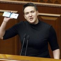 Nadija Sawczenko ogłosiła głodówkę.