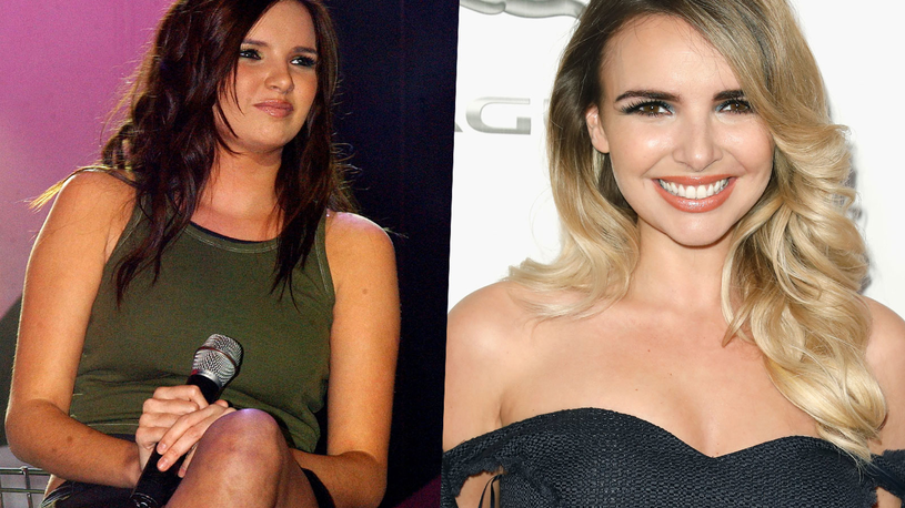 Nadine Coyle w 2003 i 2018 roku /Tristan Fewings /Getty Images