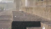 Nadwiślańskie bulwary zasypane śmieciami i butelkami