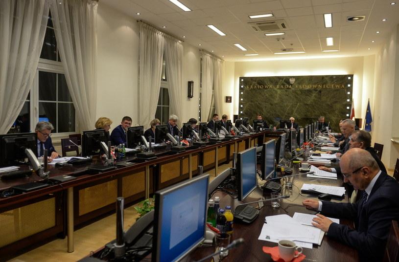 Nadzwyczajne posiedzenie Krajowej Rady Sądownictwa /Marcin Obara /PAP