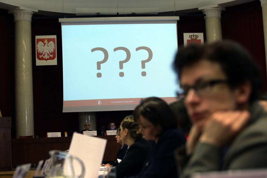 Nadzwyczajne posiedzenie Rady m.st. Warszawy. /Tomasz Gzell /PAP