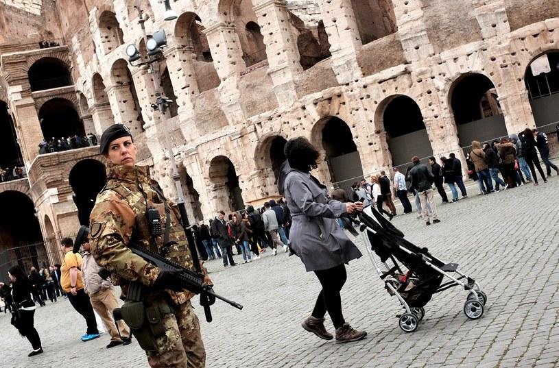 Nadzwyczajne środki bezpieczeństwa w Rzymie /AFP