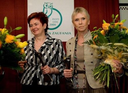 Nagroda Honorowa trafiła do Ewy Błaszczyk oraz Elżbiety Szwałkiewicz. /materiały prasowe