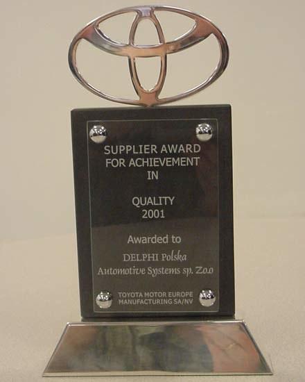 Nagroda Toyoty (kliknij) /INTERIA.PL