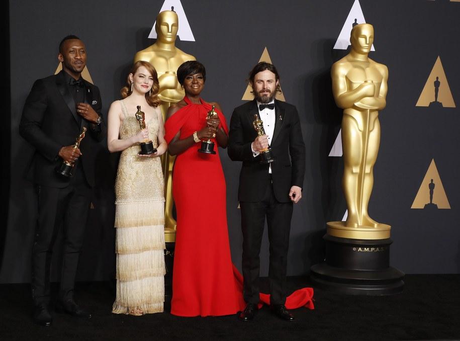 Nagrodzeni aktorzy /AARON POOLE / AMPAS /PAP/EPA