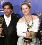 Nagrodzeni Al Pacino i Meryl Streep /AFP