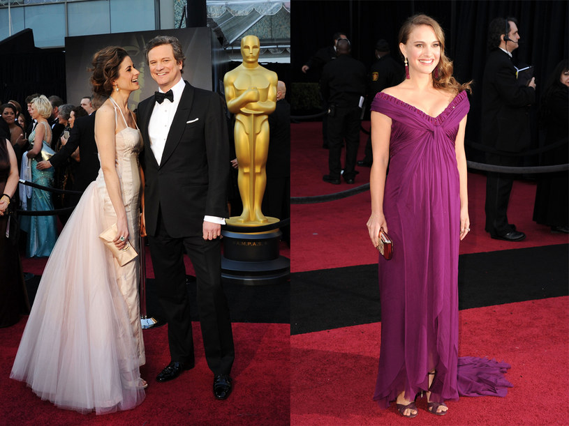 Najlepszą aktorką okazała się Natalia Portman, aktorem - Colin Firth  /Getty Images/Flash Press Media