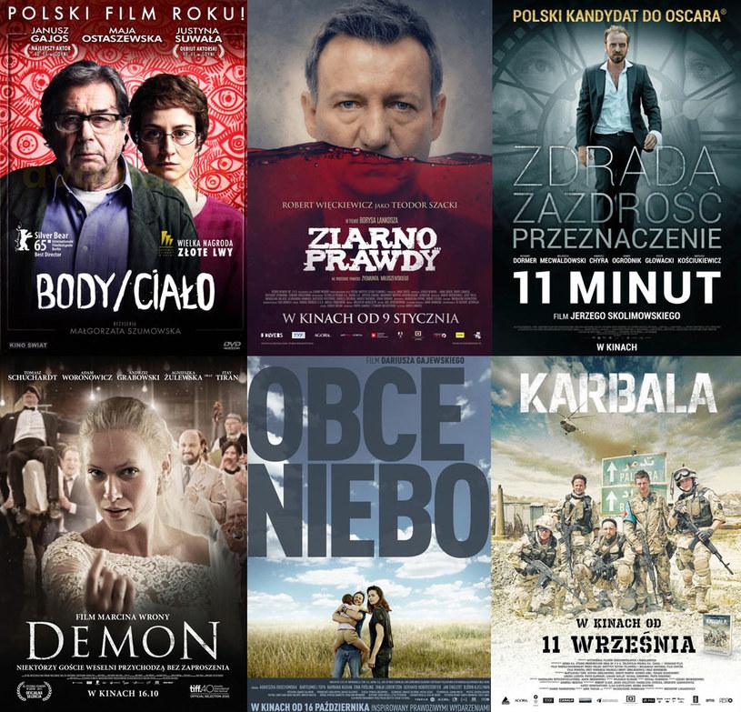 Najlepsze polskie filmy 2015 /materiały dystrybutora